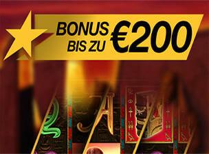 Stargames 200 Euro Bonus