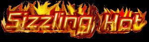 Logo des Spiels Sizzling Hot