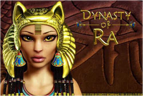 Spiellogo von Novoline Dynasty of Ra